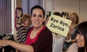 Thank you to Zarina for all your help with the School of Dentistry