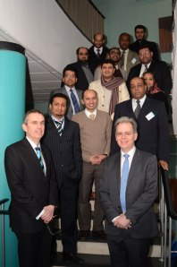 Mike Milward and Damien Walmsley with our Saudi Arabian guests