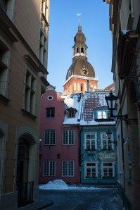Street in Riga