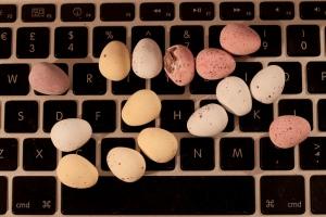 Eggs on Keyboard