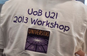 The student T shirts for the UNMDG meeting
