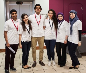 The Student organisers from dentistry