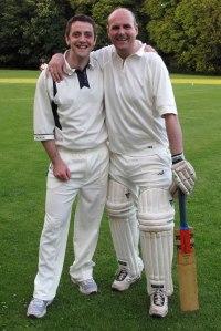 Staff batting together