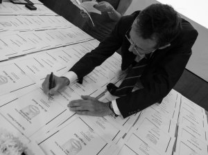 Signing the certificates