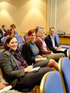 The Perio-Crew: Melissa, Helen, Phillipa & Iain