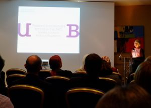 Phillipa presenting in the Periodontology Session