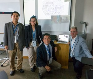 U21 Dentistry from Universities of Korea, Monterrey and UBC (via Skype)