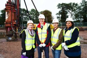 Turf Cutting with the School of Dentistry