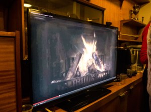 Our very own YouTube Log Fire