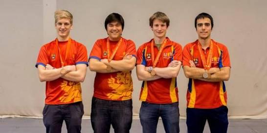The Birmingham team