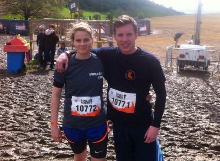 There is mud and there is Alice and James