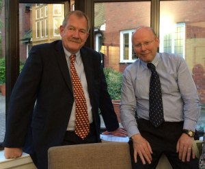 Tony Smith and Adrian Shortall