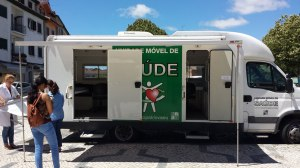 Mobile dental clinic in Viseu's Market