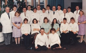 Students and staff Year? but can you recognise anyone?