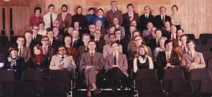 Staff Photograph. What year is this?