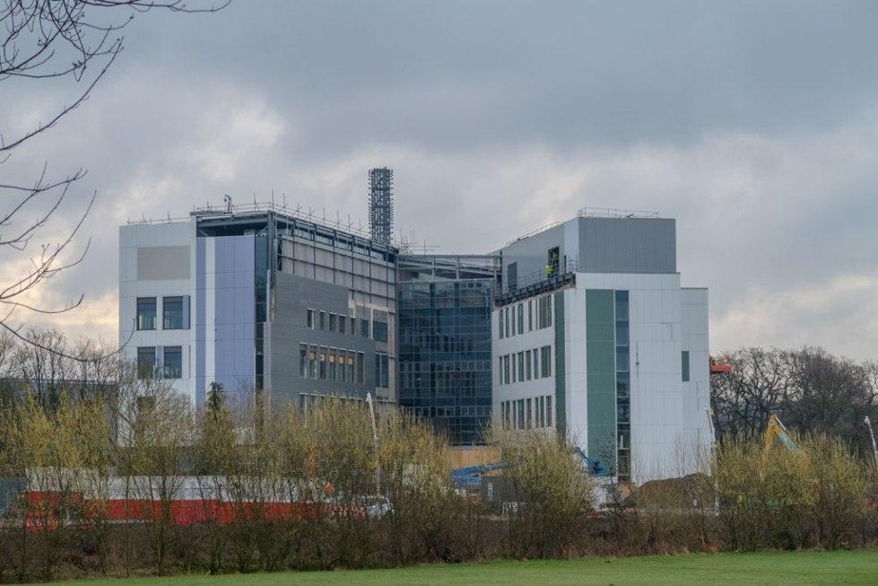 School and Hospital April 2015