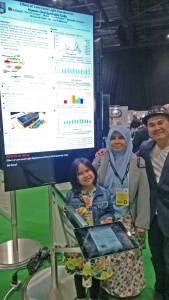 Siti and family visit her poster