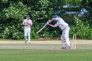 William Mckemey loses his wicket