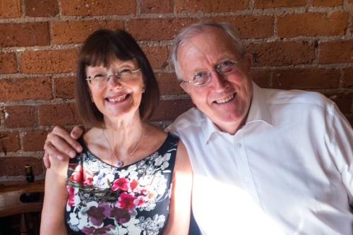 Lynda and Trevor