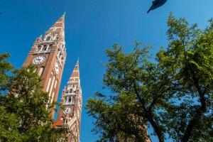 Szeged in the sunshine