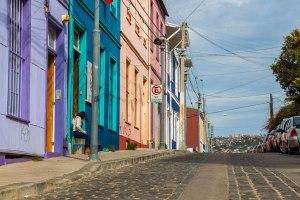 Valparaiso street scene