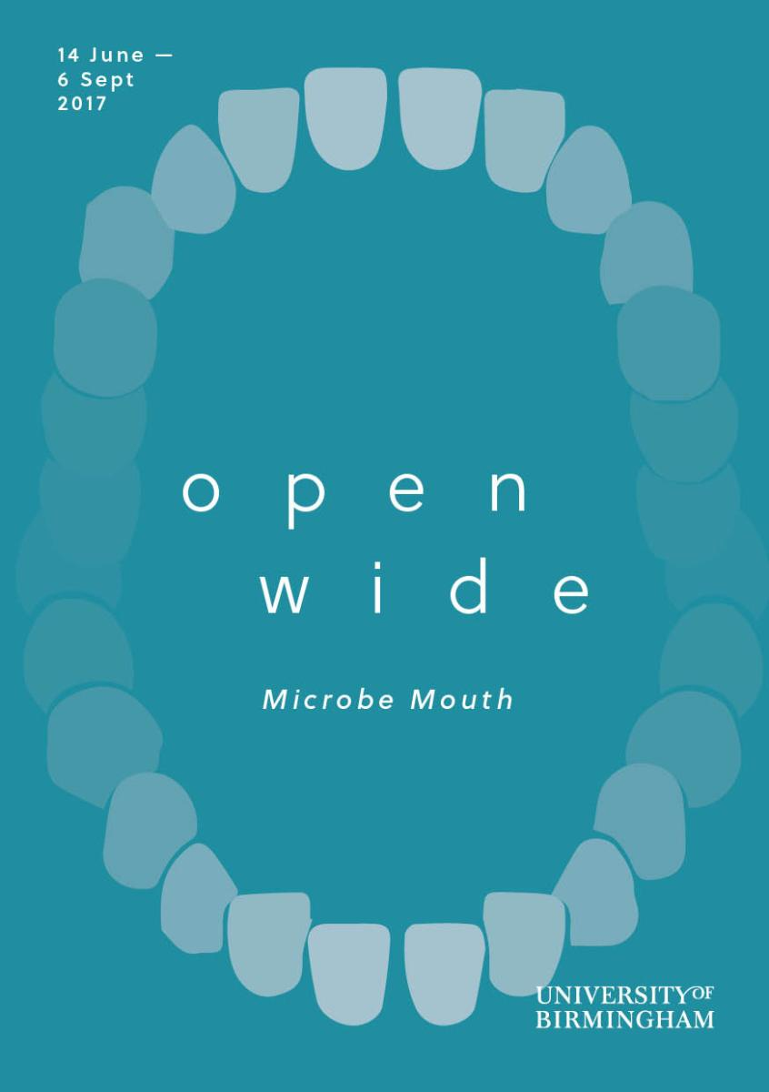 Open Wide Exhibition Microbe Mouth Opening 14th June